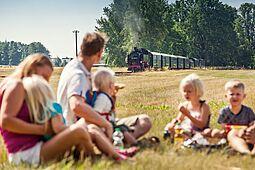 Ausflug mit und an der Lößnitzgrundbahn